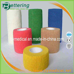 Medcom Cotton Cohesive Elastic Bandage pictures & photos