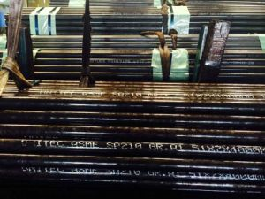 Seamless Medium-Carbon Steel Boiler Superheater Tube pictures & photos