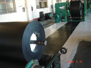 Rubber Fabric Conveyor Belt Press