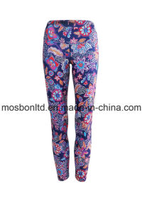 Tribal Dream High Waist Activewear Legging - Full Length pictures & photos