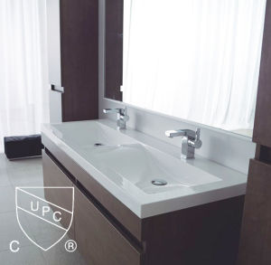 Double Bowls Bathroom Wash Sinks Sn1538 120d