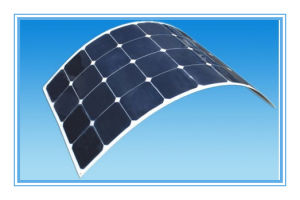 Good Quality 110W Flexible Sunpower Solar Panel/Solar Power/Solar Module with TUV IEC CE RoHS Certified