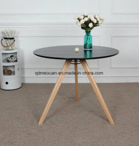 Desk Nordic Circular Dining Room Table Milk Tea Sweet Shop Table Creative  Leisure Simple Big Round Table (M X3630)