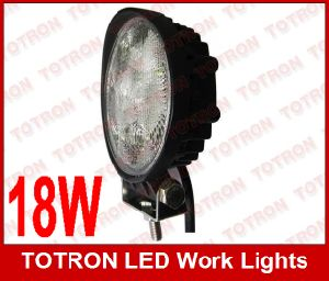 "4"" 18W 9-32V Round LED Work Light/Lamp (T1018)"
