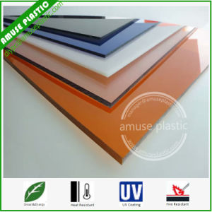 China Plastic Sheeting For Greenhouse Colored Solid Polycarbonate