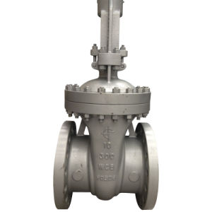 Wedge Flanged ASTM Flange Gate Valve (A216 WCB RF flange 150LB--900LB) pictures & photos