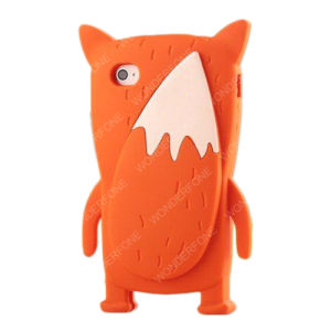 Wholesale Cartoon Cute Fox Silicone Case for iPhone 5 6 7 pictures & photos