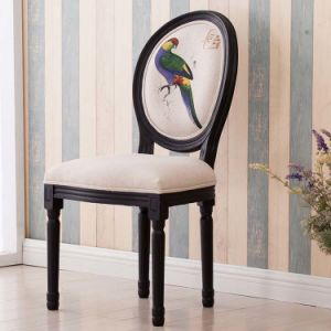 European Style and Antique Style Solid Wood Dining Chair (M-X1113) pictures & photos