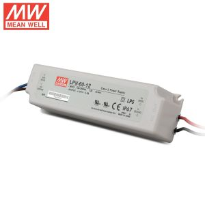 Waterproof Meanwell Lpv-60 12V IP67 60W LED Power Supply pictures & photos