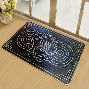 Indoor Outdoor Anti Slip Non Skid Slippery Resistant Water Proof PVC Plastic Vinyl Indoor Outdoor Doormats pictures & photos