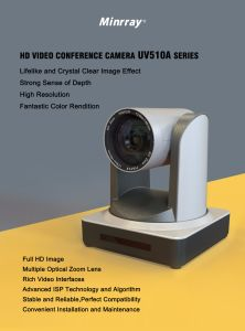Newest Video Conference Camera with 1080P60 12X USB3.0/LAN Camera