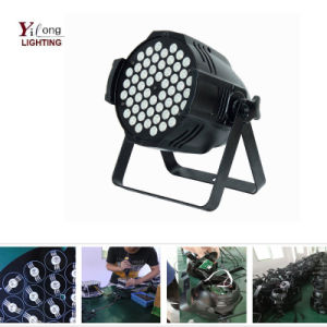 Indoor RGBW 3W Professional DMX512 LED PAR64 PAR56 Party Light