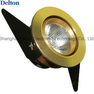 Golden Flexible 1W Mini Spot Light LED Cabinet Light (DT-CGD-007) pictures & photos