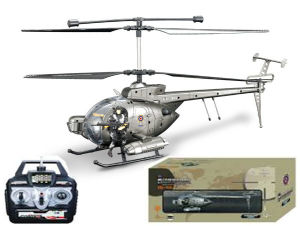 R/C Helicopter with Gyro and Camera