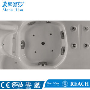 2*2 Meter 5 People SPA Tub with 2 Lounges (M-3352) pictures & photos