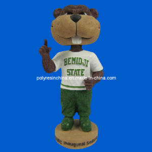 Resin Mascot Bobblehead, Pesonalized Sporting Mascot Bobble Head pictures & photos