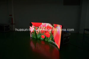HD Curved Flexible LED Screen P6mm Soft LED Curtain