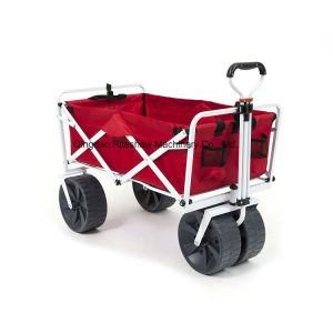 Heavy Duty Collapsible Folding All Terrain Utility Wagon Beach Cart