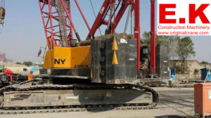 100ton Used Sany Secondhand Crawler Crane Construction Machinery (SCC1000C) pictures & photos
