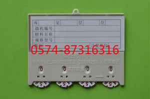 Type D 10*7.7cm Magnetic Material Card Storage Card Warehouse Card with Numbers
