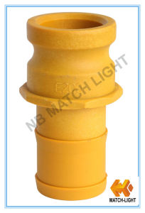 Injection Molding Nylon Grooved Plastic Camlock Fittings (Adapter type E) pictures & photos