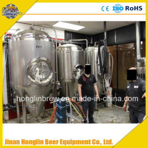 Industrial Beer Brewing Equipment