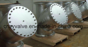 "API/DIN/JIS Class150 Cast Steel A216 Wcb 18"" Dn450 Y Strainer pictures & photos"