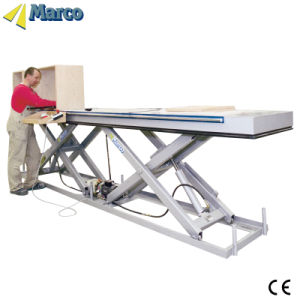 1 Ton Marco Twin Scissor Lift Table with CE Approved pictures & photos
