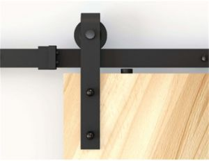 Whloesales Wooden Barn Sliding Barn Door Hardware (LS-SDU-1003)