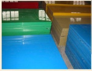 UHMWPE Sheet with White, Yellow, Green Color pictures & photos