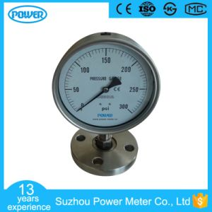 4′′ 100mm Stainless Steel Sanitary Diaphragm Pressure Gauge with Flange pictures & photos