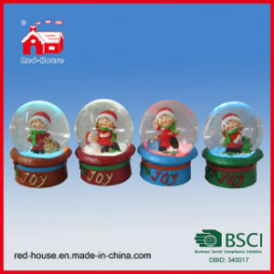 Snow Globe Ornament Resin Snow Globe Mini Snow Globe