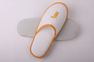 Orange Color Washable Hotel Slipper