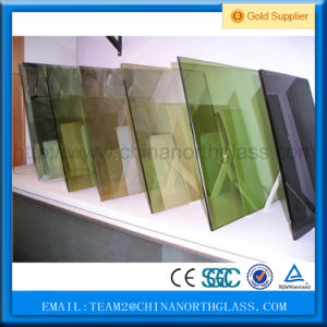 4mm+0.38PVB+4mm 8.38mm Decorative Green Laminated Glass pictures & photos
