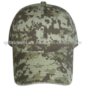 Popular Digital Camouflage Cotton Canvas Leisure Baseball Cap (TMB03947) pictures & photos