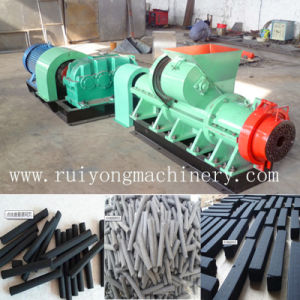 Popular Coal Powder Briquette Machine/ Briquette Rod Extruding Machine pictures & photos