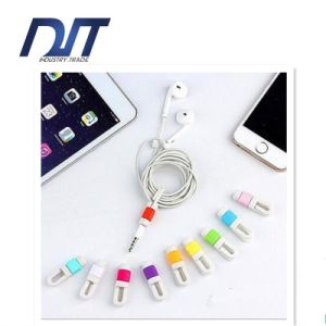 Smart Colorful USB Cable Tie for Earphone Data Wire
