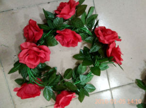 Artificial Wreath Flower for Wedding Decoration pictures & photos
