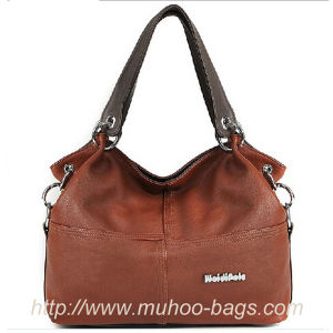 Fashion Leather Ladies Handbag, Fashion Bags (MH-6049) pictures & photos