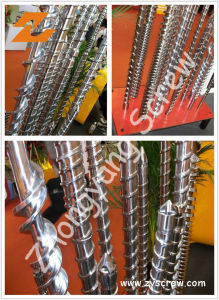 Bimetallic Single Screw for Injection Molding Machine pictures & photos
