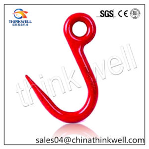 G80 Red Painted Forged Steel Tube Hook Pipe Hook pictures & photos