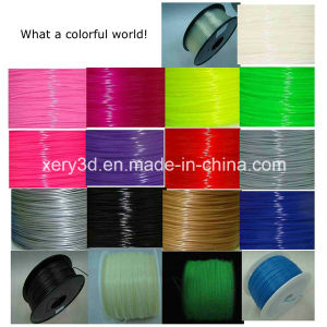 3D Printing 1.75mm Fdm PLA Filament Printer 3D Full of Colour and Lustre Is Bright