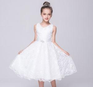 24d93bee6 Sweet Kids Flower Girls Lace Dress for Wedding Party Formal Party Dresses  Kids Wear