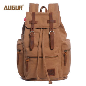 80687134bf China Vintage Canvas Leather Backpack