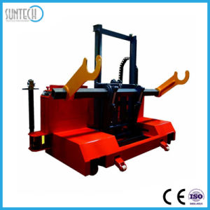 Suntech Motorized Beam Rolls Transport Lift Trolley Price