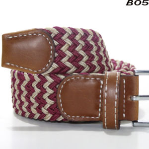 1017b53a4 B05 Wholesale Ladies 4cm Width Stretch Men Belts Fashion Mix Color Braided  Elastic Belts