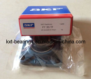 SKF Fy35TF 4 Bolt Flange Bearing Unit pictures & photos