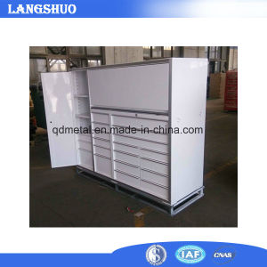 Used Industrial Metal Storage Tool Trolley Cabinets / Garage Used Tool Box Parts Cabinet  sc 1 st  Qingdao Langshuo Metal Products Co. Ltd. & China Used Industrial Metal Storage Tool Trolley Cabinets / Garage ...