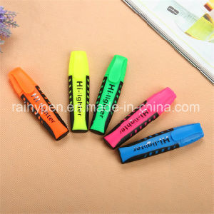 En-71 Soft Grip Highlighter Pen for School Office