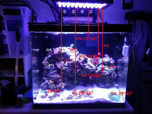 120w Aquarium Led Lights Lighting With Sunrise Sunset